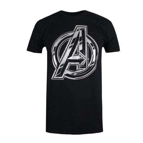 Marvel - Avengers - Men's T-Shirt - Black - S-XXL