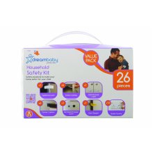 Dreambaby Household Safety Kit Value Pack (White, 26 Pieces)