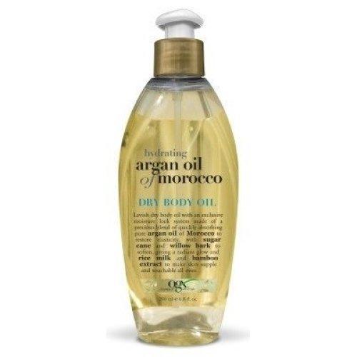 OGX Dry Body Oil Hydrating  Argan Oil of Morocco, 68 FL OZ