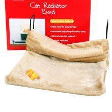 "High Grade Solid Soft Dog Cat Pet Bed,Cat Hammock,BEIGE,(18""*12""*10"")"
