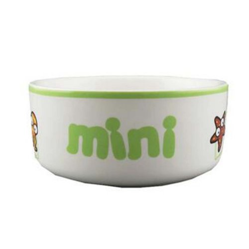 One Little Ceramic Feeding Pot/Pet Bowl/Dog Bowl/Cat Bowl For Food & Water 10x4.5CM (C#11)