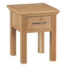 Stirling Oak Lamp Table