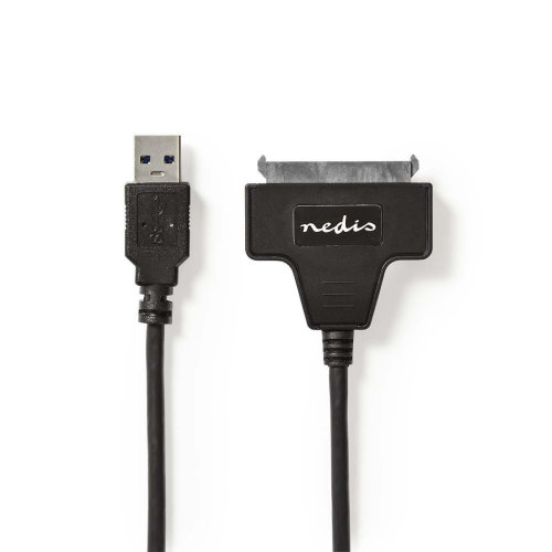 "Hard Disk Adapter USB 3.0 SATA 2.5"" Hard Drive Solid State 30cm Cable"