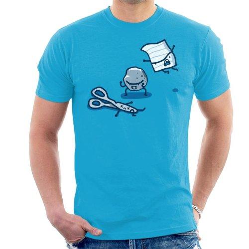 Paper Rock Scissor Fight Men's T-Shirt