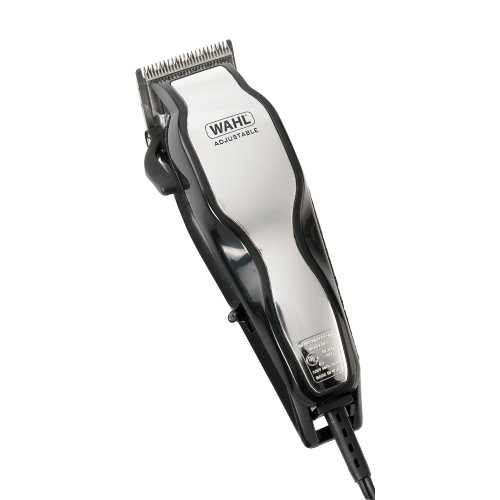 Wahl ChromePro Mains Hair Clipper Set with Instructional DVD
