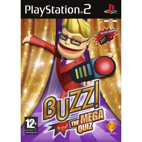 Buzz! the Mega Quiz - Buzz! The Mega Quiz - Solus (PS2)