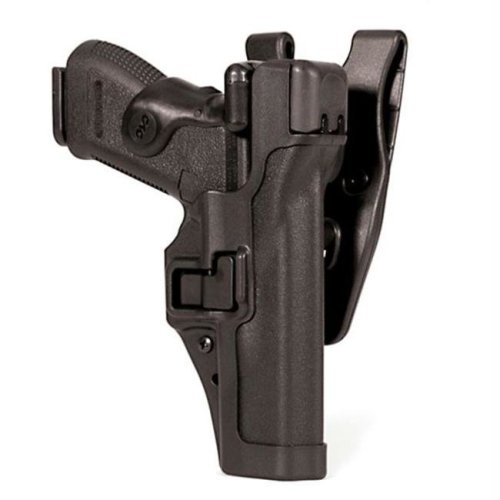 Blackhawk Level 3 Serpa Duty Holster  RH  S&W MP 9-40  Black