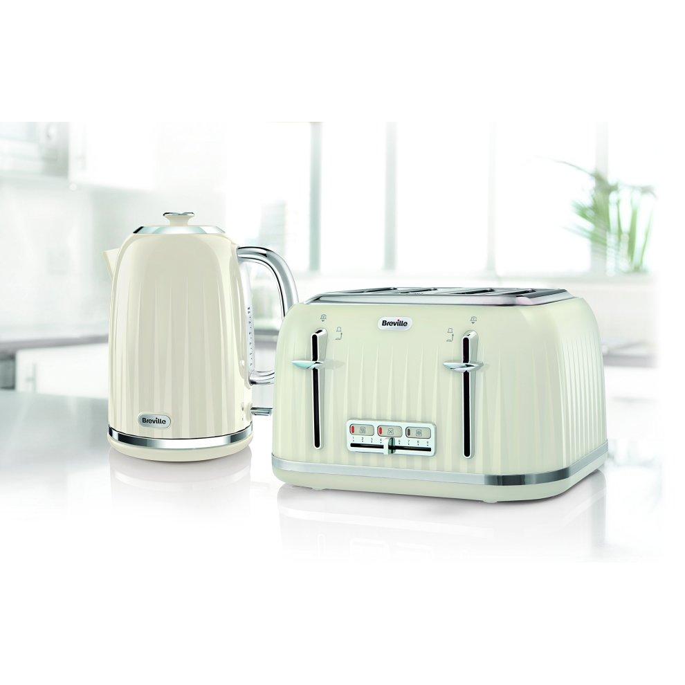 41901ab3dedc ... Breville VTT702 Impressions 4 Slice Toaster - Cream - 2 ...