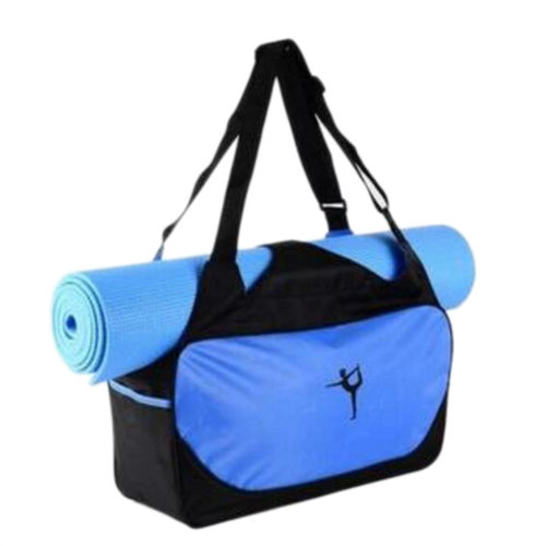 Outdoor Sport Bag Waterproof Training Yoga Bag Thicken Exercise Yoga Mat Bag-Blue
