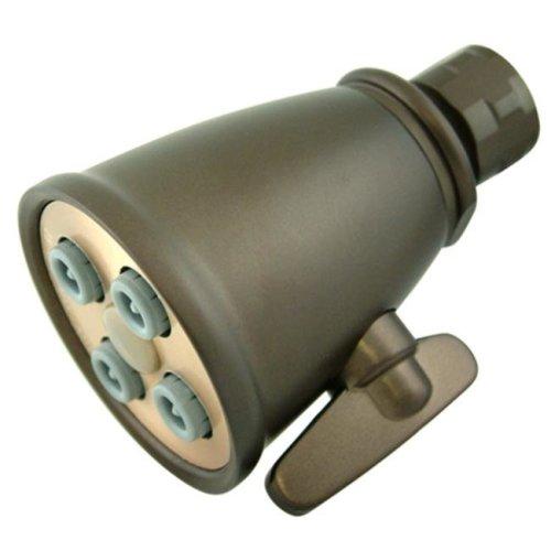 Kingston Brass K137A5 4 Spray Nozzles Power Jet Shower Head - Oil Rubbed Bronze