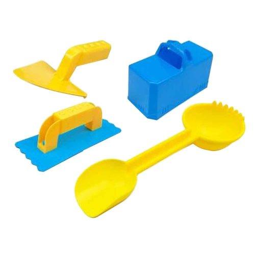 Set of 4 Plastic Snow Toys Beach Toys for Fun, Random Color