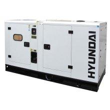 Hyundai DHY34KSE Three Phase Diesel Generator 1500rpm 34kVA 230v/400v
