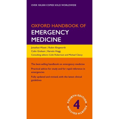 Oxford Handbook of Emergency Medicine 4/e (Flexicover) (Oxford Medical Handbooks)