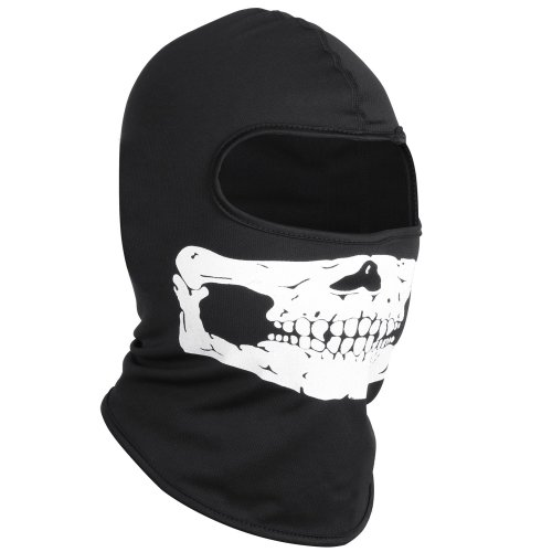 Trixes Skull Balaclava for Skiing, Motorbiking or Extreme Sports