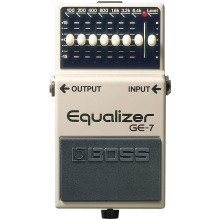 Boss GE-7 Graphic Equaliser Compact Effects Pedal
