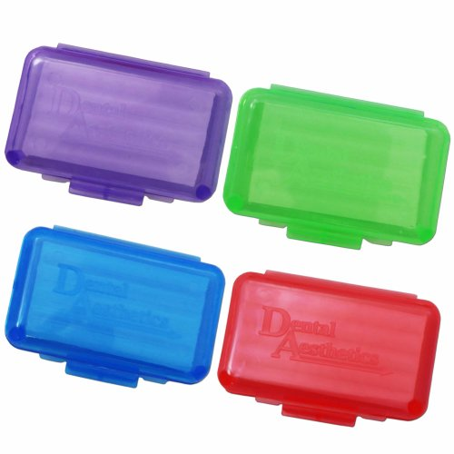 Orthodontic Wax x 4 Colour Cases ~ Brace Relief Wax