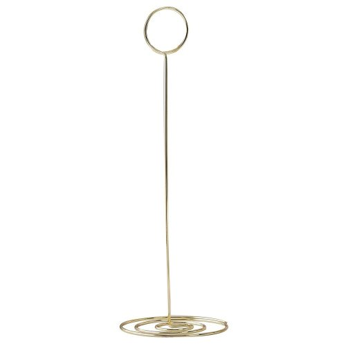 Gold Metal Wedding Table Number Card Holders x1