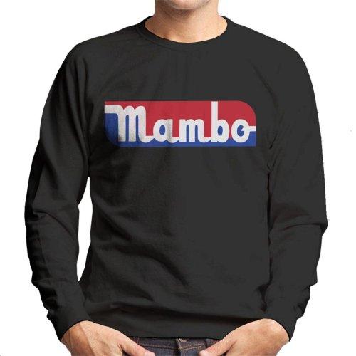 Mambo Retro Sports Style Logo Men's Sweatshirt