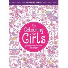 Colouring For Girls: Pretty Pictures To Colour And Complete (Buster Activity)