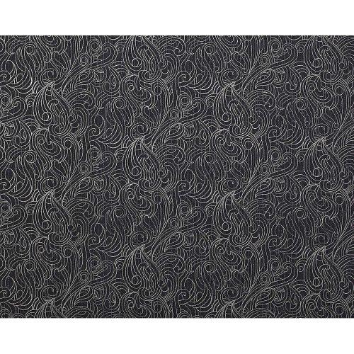 EDEM 698-96 Design pattern quality non-woven wallpaper black grey-whte 10.65 sqm
