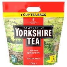 600 Yorkshire Tea One Cup Tea Bags 1.5kg
