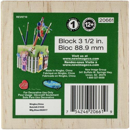 """Wood Turning Shapes Bulk-Block 3.5"""""""