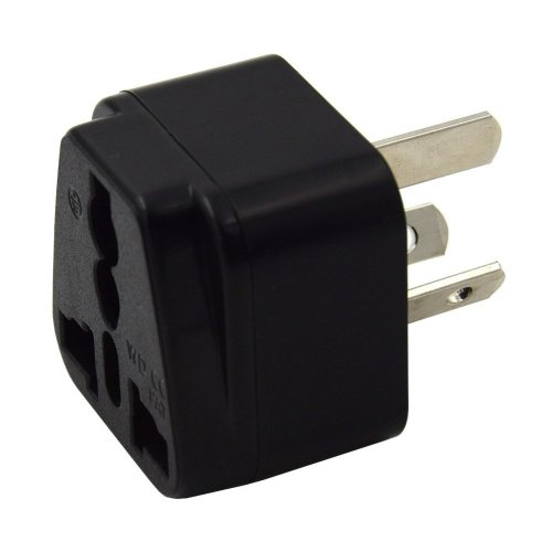 UK to China Plug Adapter,Adaptor for visitors from UK to China,Australia and New Zealand (Black)