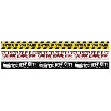Halloween Fright Tape  - 9.1m each