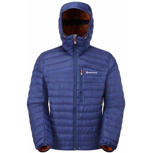 Montane Mens Featherlite Down Jacket Antarctic Blue (Small)