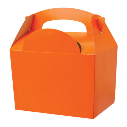 Colpac 50 Pack Party Boxes - Orange -  colpac 50 pack party boxes orange