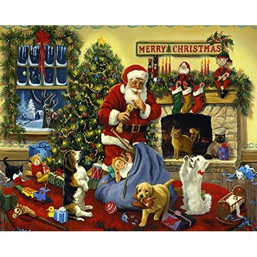 Christmas Jigsaw Puzzles.Santa S Beggars Christmas Jigsaw Puzzle 1000 Piece