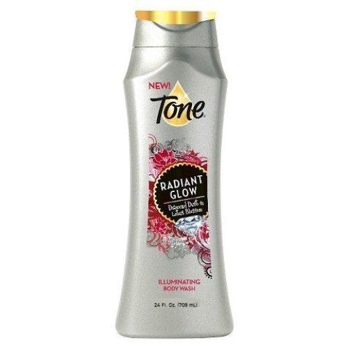 Tone Radiant Glow Body Wash, with Diamond Dust &amp Lotus Blossom, 24 Fl. Oz.