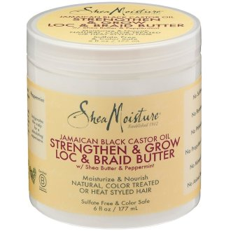 Shea Moisture Jamaican Black Castor Oil Loc & Braid Butter 6oz