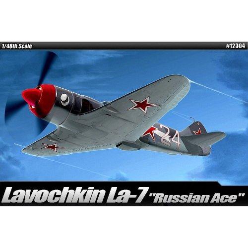 Aca12304 - Academy 1:48 - Lavochkin La-7 Russian Ace
