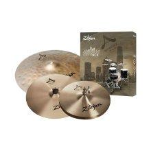 """Zildjian A City Pack Inc 18"""" Uptown Ride, 14"""" A Fast Crash, 12"""" A Newbeat HiHats"""