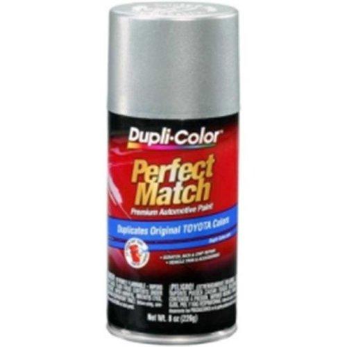 Krylon BTY1613 8 oz Perfect Match Automotive Paint, Toyota Millenium Silver Metallic