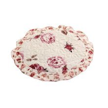 Fashion Round Chair Pads Beautiful Stool Cushions, Pink