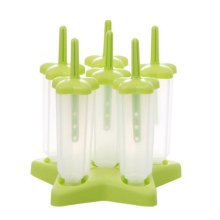 Reusable DIY Frozen Ice Cream Pop Molds Ice Lolly Makers-06