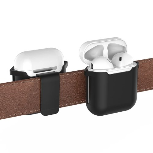 Universal Detachable Belt Clip Anti-scratch Hardshell Protective Case Pouch for AirPod