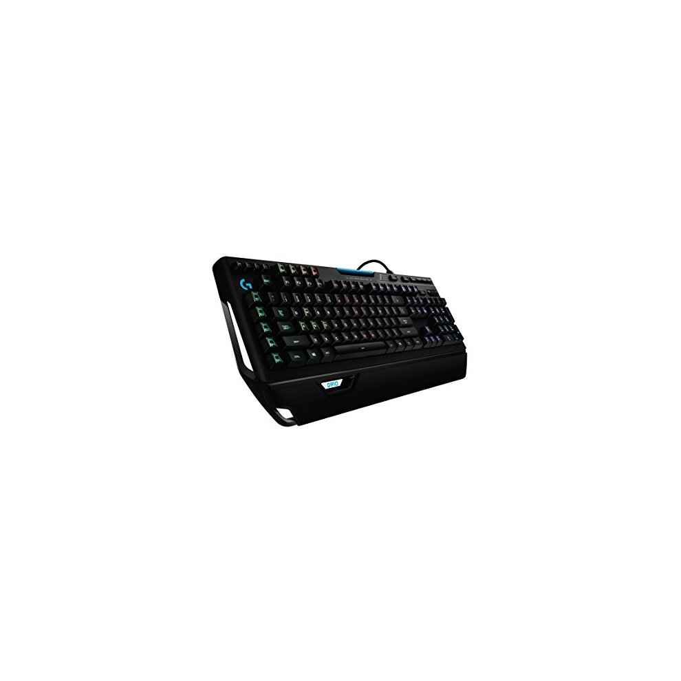 Logitech G910 Orion Spectrum RGB Mechanical Gaming Keyboard, AZERTY French  Layout - Black