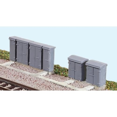 Relay boxes - N gauge buildings - Ratio 257 - free post F1