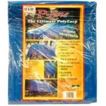 World & Main V1620 Reinforced Plastic Tarp (16 x 20)