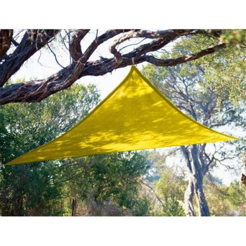 Coolaroo 799870434496 9 ft. 10 in. Triangle Yellow