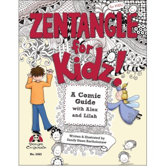Design Originals-Zentangle For Kidz!