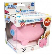 12pc Plain Piggy Banks | Set Of Decorate Your Own Piggy Banks