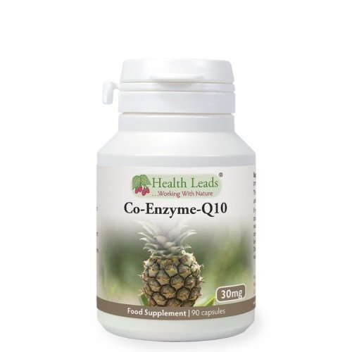 Coenzyme Q10 30mg x 90 capsules (Magnesium Stearate Free)