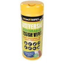 Smaart Universal Tough Wipes Biodegradable 40pk 40pk -  biodegradable tough cleaning wet wipes 40pk 922518