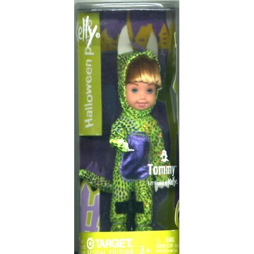 Barbie  Kelly Club Halloween Costume Party Tommy As Green Dragon, Kelly Lil Friends Doll