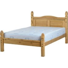 Onil Pine Bed Low Foot End
