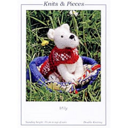 Knitting Pattern - Milly in a Basket - Dog